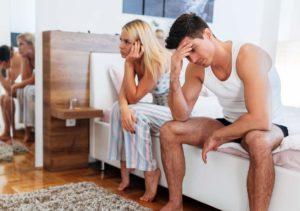 Проблема отношений после секса втроем.