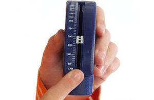 Измеряем максимальную объемную скорость выдоха