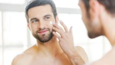 Ухода за кожей лица мужчин