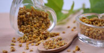 Показания к применению пыльцы, обножки, перги