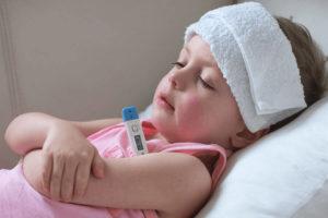температура у ребенка  39-39.5 6 дней