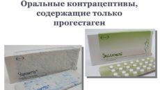 Гормональные препараты, содержащие только прогестин