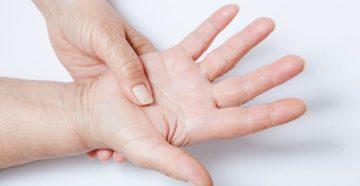 Колики в пальцах рук и ног