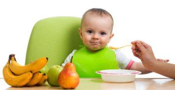 Чем кормить младенца и ребенка ясельного возраста