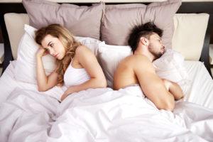 Не встает после секса с первой партнершей