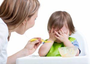 Ребенок 1,5 года отказывается от еды