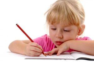 Ребенок перестал писать