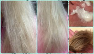 Липкие волосы после мытья...