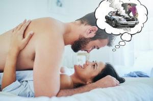 Отсутствие приятных ощущений во время секса.